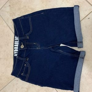 ✰ Hydraulic women's denim shorts ✰